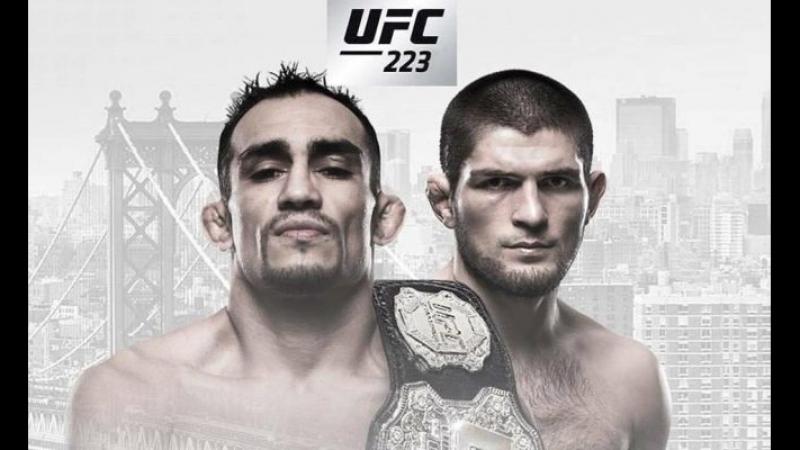 Promo to UFC 223. By Naydenov.