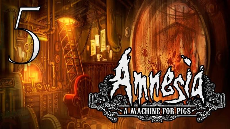 Канализация ужасов ➤ Amnesia A Machine for Pigs 5