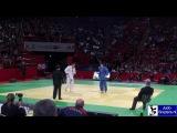 Judo 2010 Grand Slam Paris Daniel Brata (ROU) - Yauhen Biadulin (BLR) -100kg.