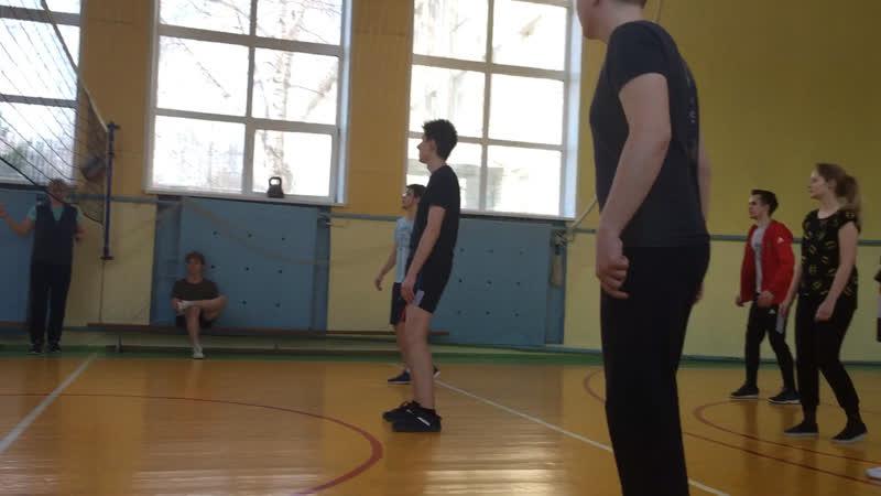 10А и 11А. Волейбол.