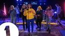 Dua Lipa IDGAF ft Charli XCX Zara Larsson MØ Alma in the Live Lounge