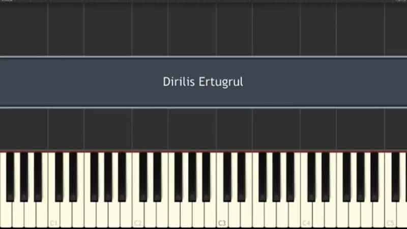 Diriliş 'Ertuğrul' Jenerik Müziği-Piano Tutorial by VN.mp4