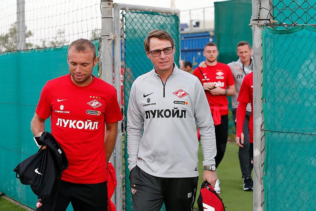 Денис Глушаков и Олег Кононов