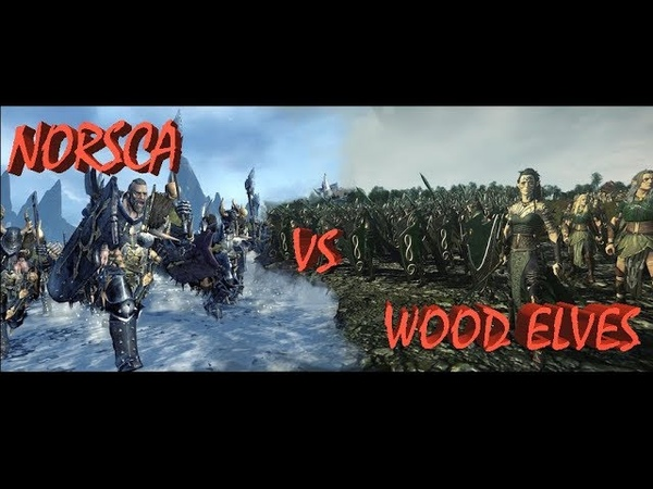 Wood Elves (WhiteOwl) vs Norsca (Morgengrat)