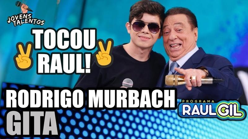 Jovem com 17 anos tem a voz idêntica à de Raul Seixas Raul Gil