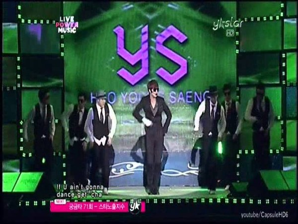 Heo Young Saeng - Out the Club (live mix)