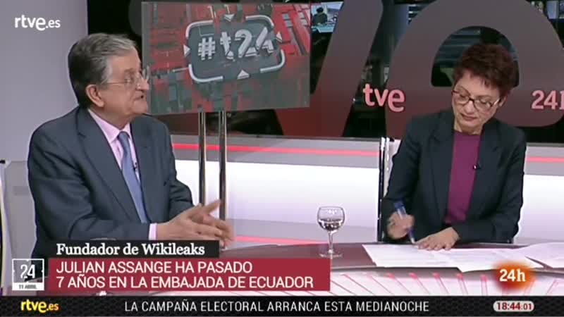 24H Assange tertulia con Anna Bosch y Rafael Calduch y Titulares 19h vlc-record-2019-04-11-18h31m42s-24h-