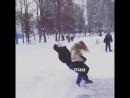 Тем временем в Даге зимой