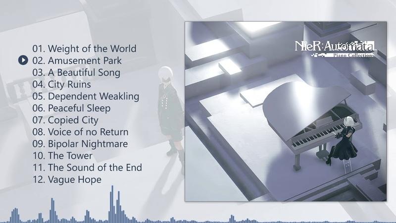 Piano Collections NieRAutomata - Complete Album