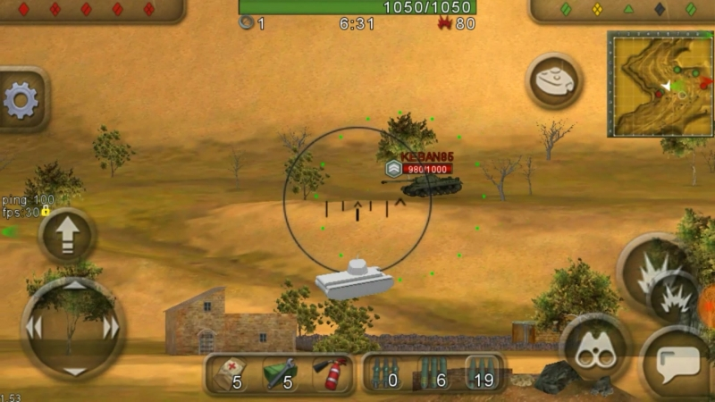 Wild Tanks Online_бк ИС_3