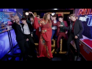 BTS and Tyra Banks Show Off Their Idol Dance Moves - Americas Got Talent 2018