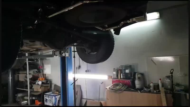 Киа Соренто 3.3 V6 Тюнинг выхлопа