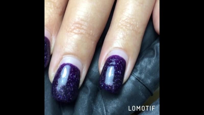 Ноготкам больше месяца ☺️ Комби маникюр, коррекция ногтей покрытие гель лак (шеллак) Маникюр, гель лак, дизайн Темрюк💅💅💅