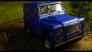 Ставим силовой бампер на Land Rover Defender Off Road Как сделать бампер на масштабную модель