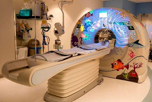 Красочные интерьеры детских больниц HDulGOLPDgE