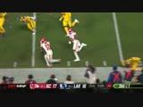 Тайрик Хилл против Брэндина Кукса - лучшие моменты - легендарный матч - 11 неделя - американский футбол