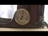 Каминные часы Hermle с четвертным боем, механизм Hamilton 340-020