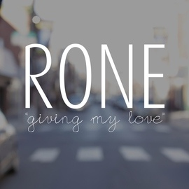 Rone альбом Giving My Love - Single
