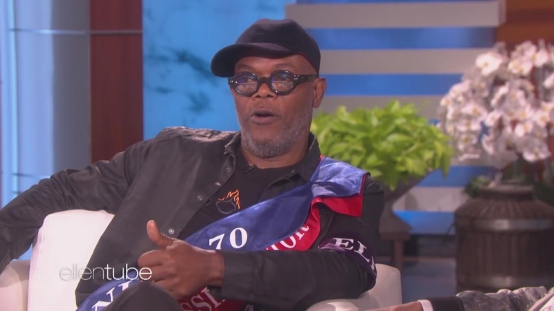 Samuel L. Jackson on Using His Favorite Curse Word as a Term of Endearment