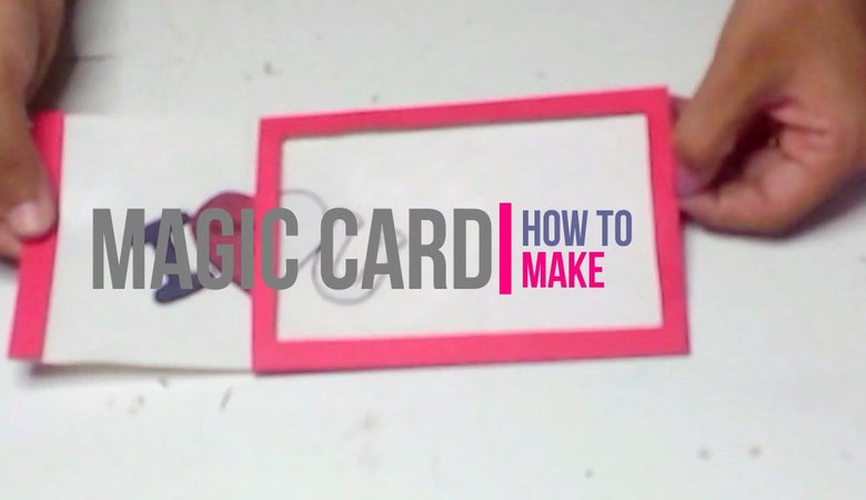 How to Make Magic Card [Paper Craft] [DIY] by Brain Washer