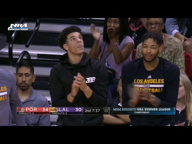 Portland Trail Blazers vs LA Lakers Full Game Highlights July 17 2017 2017 NBA Summer League