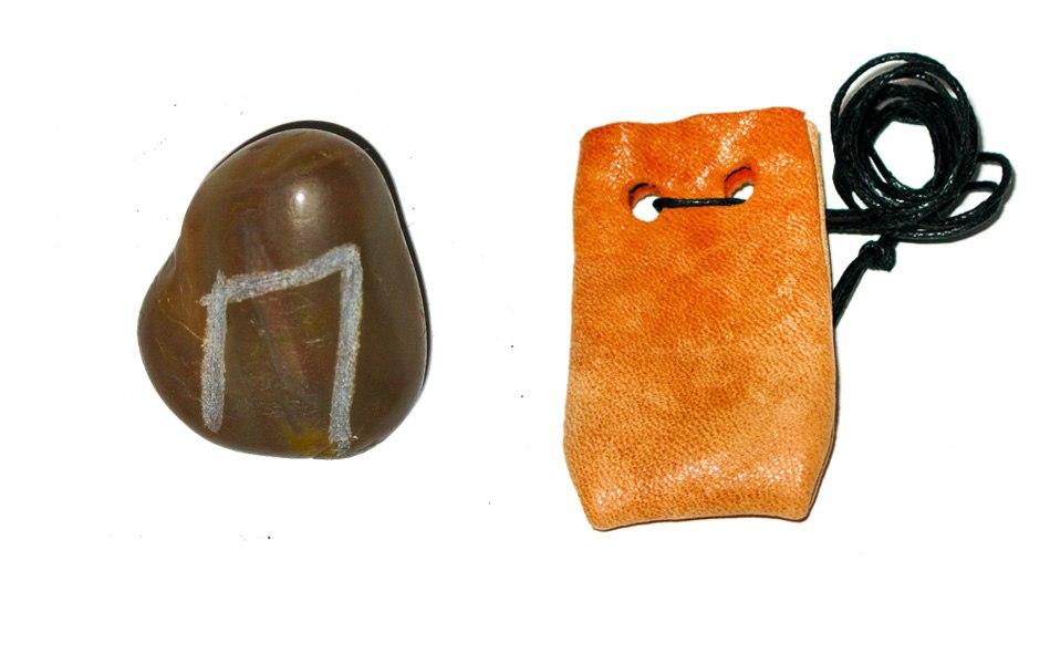 Рунические амулеты, талисманы ( камень ) с магическими программами.  DJPV6mZyqek