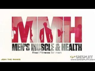 Greg Plitt Men's Muscle & Health Magazine Cover Shoot