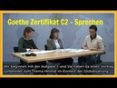 Goethe Zertifikat C2 - German Oral Exam C2