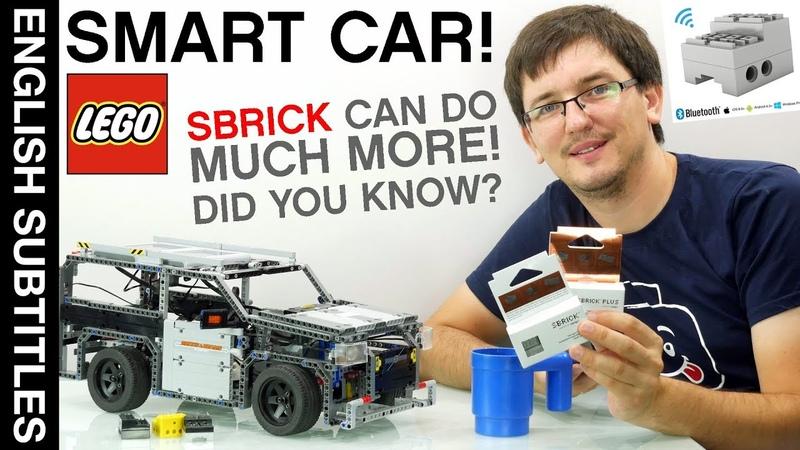 Smart LEGO car Удивительный SBRICK Уверен вы такого не делали с ним