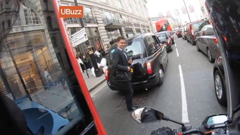 Coolest Bus Driver Prevents Pedestrian Accident