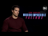 Mission Impossible Fallout Cast Interviews - Henry Cavill, Simon Pegg, Vanessa K