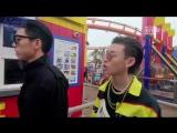 [РУС.САБ] 180627 Сяо Гуй и Ван Цзыи за кадром 2 эпизода