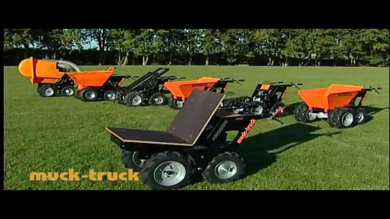 Muck-Truck Minidumper www.mucktruck-deutschland.com Belle BMD Loadrunner