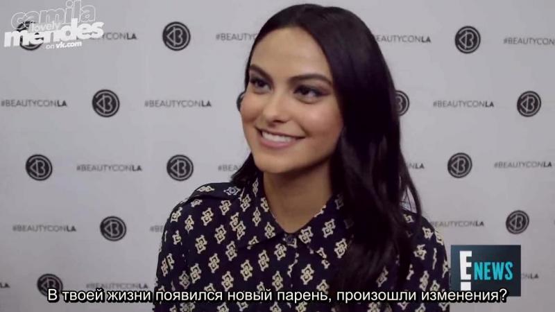Русские субтитры ›› интервью Камила подтвердила слухи о своих отношениях с Виктором Хьюстоном