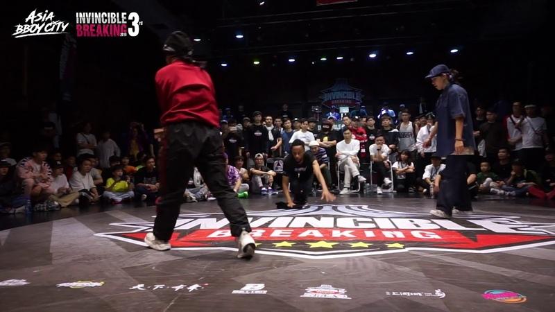 小浍 vs Fifty Final Bgirl Invincible Breaking Jam Vol 3