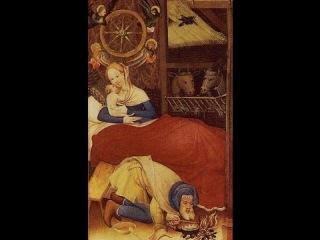 Рождество Христово в арканах Золотого Таро Кэт Блэк, Золотого Таро Боттичелли, Таро Золото икон.