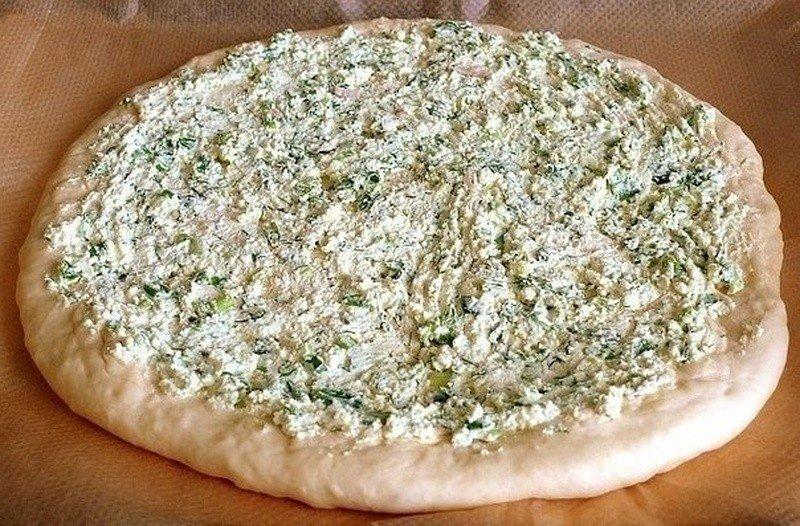 ДЕРЕВЕНСКАЯ ПИЦЦА Ингредиенты: Тесто: молоко - 250мл сахар - 2ст.л. сухие дрожжи
