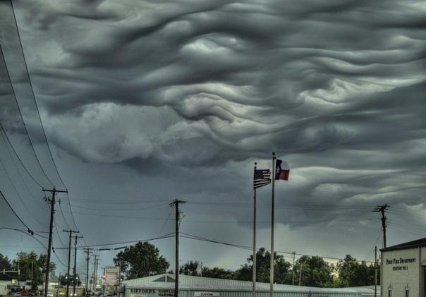 Асператус  самые страшные облака