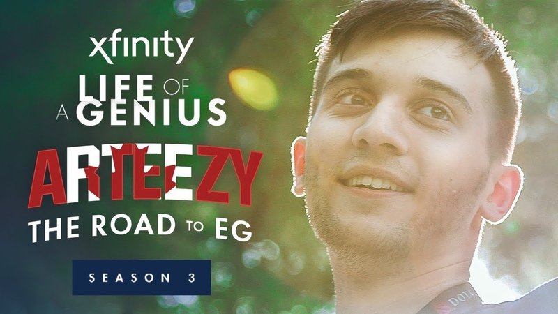 Xfinity Presents: Life of a Genius | Season 3, Episode 2 Arteezy: The Road to EG