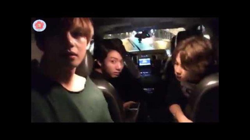 BTS FANCAFE (방탄소년단) - KIM TAE HYUNG. JIMIN. J-HOPE