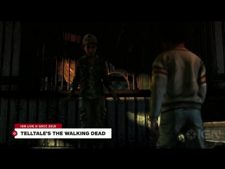 Telltales The Walking Dead- A First Look at The Final Chapters - Comic Con 2018