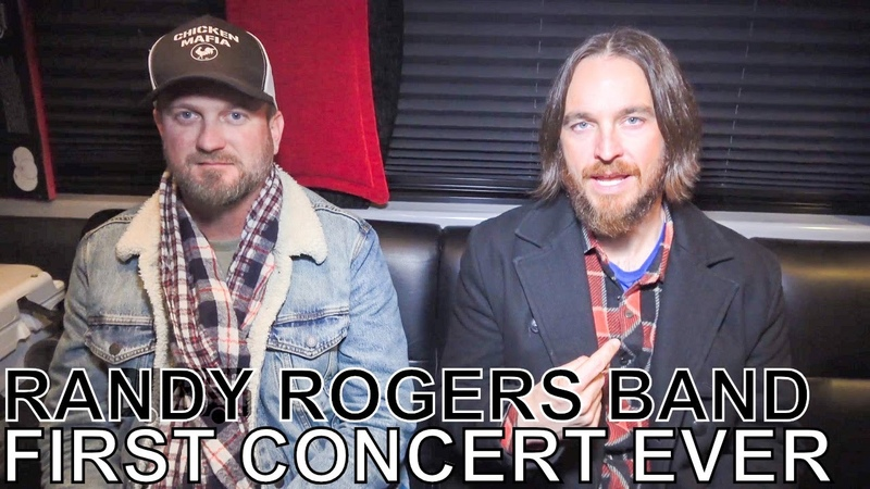 Geoffrey Hill Johnny Chops (of Randy Rogers Band) - FIRST CONCERT EVER Ep. 81