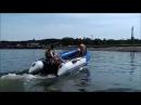 Аквилон Aquilon - надувная моторная лодка ПВХ с дном низкого давления НДНД 074