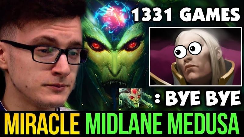 MIRACLE- Midlane Medusa vs Invoker Picker, Blademail Counter Build