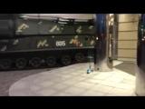 В Киеве «Бук» врезался в бизнес-центр после репетиции парада