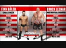 — Финн Балор против Брока Леснара КБ от 28.1.19