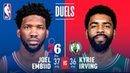Joel Embiid Kyrie Irving Go Off Epic Showdown | March 20, 2019 NBANews NBA 76ers JoelEmbiid Celtics KyrieIrving