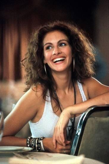 Очаровательная и молодая Джулия Робертс Американская актриса и продюсер1990-е гг.
