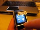 01 Обзор ZGPAX S6 часы – телефон на Android 4 0 процессор MTK6577, 1,5 дюймовый TFT дисплей, 3G, GPS