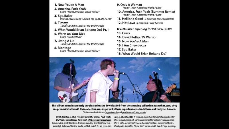 DVDA Residue (The Full Album) [Check the description]